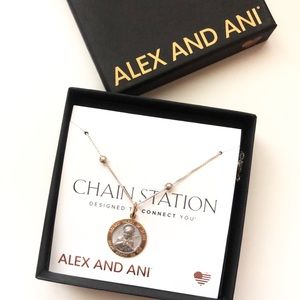 NWT Alex And Ani • Sacred Heart of Jesus Necklace